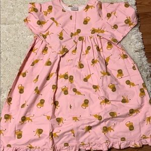 Hanna Andersson Lion Pink Nightgown-12-150
